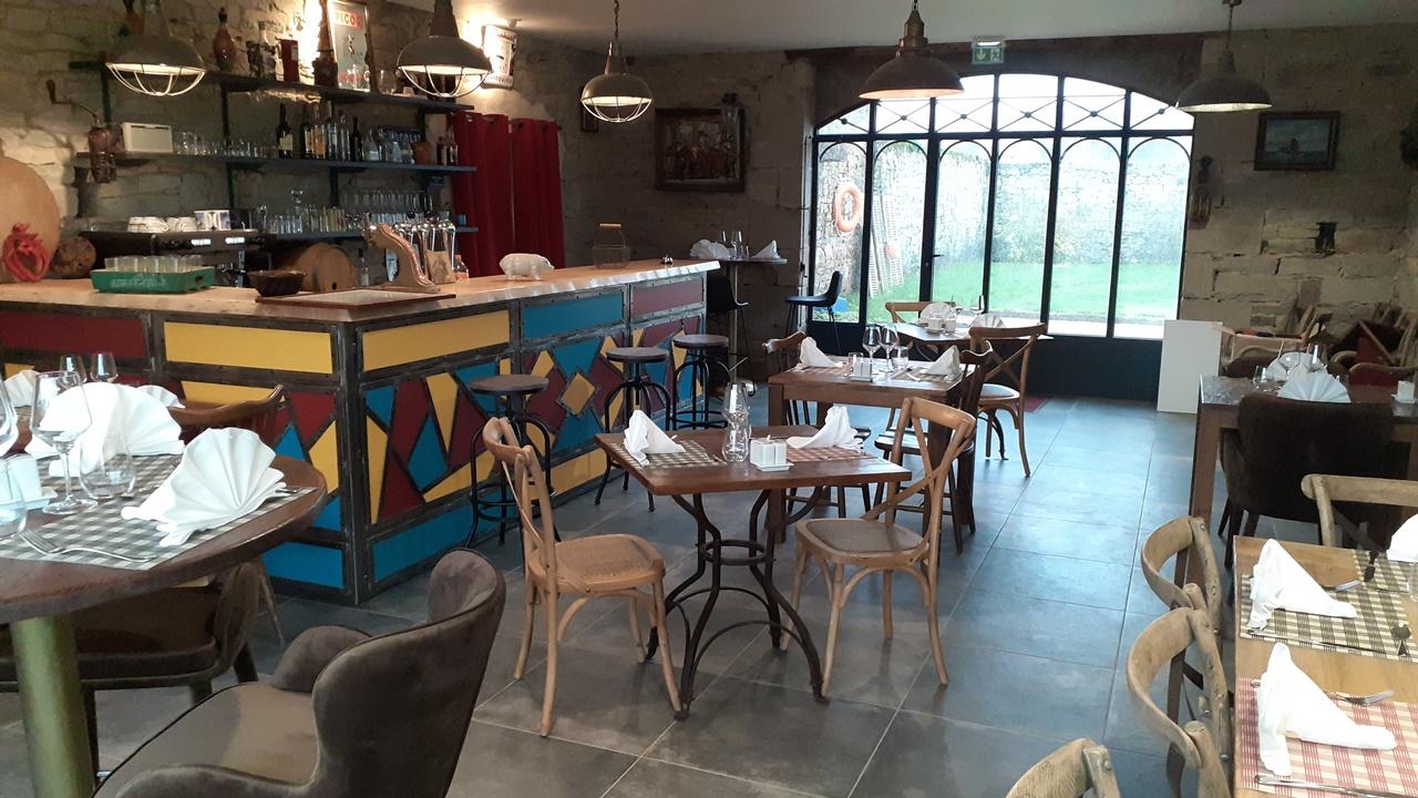 Restaurant vue bar